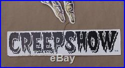 Rare Vintage Creepshow Movie Record Store Mobile Hanging Display Creep Show King