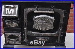 Rare Vintage Majestic Jr. Salesman Sample Store Display Cast Iron Stove