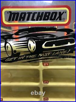 Rare Vintage Matchbox Rotating Store Display 1 75 Car Display EXCELLENT COND