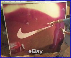 Rare Vintage Nike Display sign (it lights up)