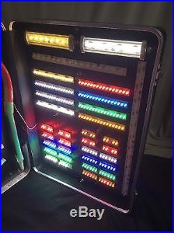 Rare Vintage Salesman Sample Original LED Advertising Light Sign In Platt Case