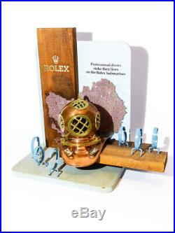 Rolex vintage Submariner dealers showroom Display