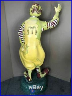 Ronald McDonalds Hamburger Vintage 1960's Life Size Store Statue Display