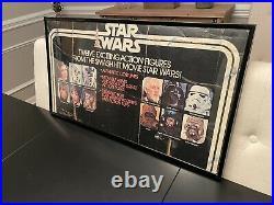 Star Wars vintage original store display