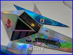 Starfox 64 Nintendo N64 Store Display Hanging Mobile Promo Promotional Sign VTG