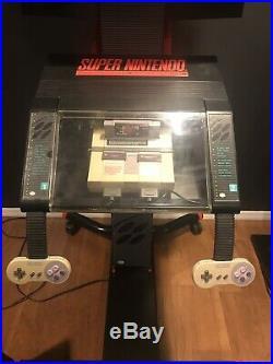Super Nintendo Kiosk Store Display RARE Vintage Original