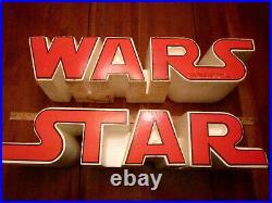 Ultra Rare Star Wars Clarks Shoes Styrofoam Store Display Vintage 1979 Clark's
