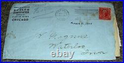 VINTAGE 1903 THE VICTOR SAFE & LOCK COMPANY SALESMAN SAMPLE SAFE WithPROVENANCE