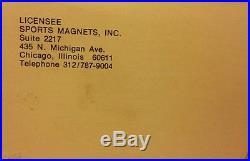Vintage 1977 Ihop NFL Magnetic Standings Board Store Display Rare