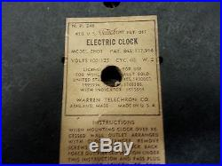 Vintage Ge / Telechron Dr Pepper Ice Cream Parlor-diner-store Display Clock