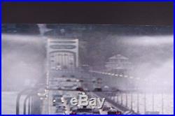 VINTAGE ORIGINAL 1970's MAN vs. MACHINE NIKE SHOES RUNNING STORE DISPLAY POSTER