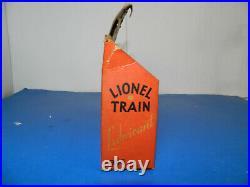 VINTAGE ORIGINAL LIONEL TRAINS # 925 LUBRICANT DEALER STORE DISPLAY w\ 12 TUBES