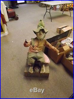 VINTAGE RARE Mountain Dew Man Willy the Hill Billy Store Display GAS SODA COLA