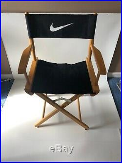 VTG 1990, S Rare Nike Directors Chair Store Display Just Do It 90s Advertising
