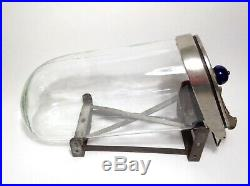 VTG Panay Show Jar Glass Candy Snacks Holder General Store Display withStand'20s