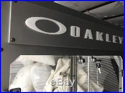 VTG Retail Display Case OAKLEY Sunglasses X-Metal Glass Shelf 4.0 Eyewear Tower