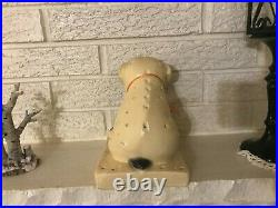 Vintage 1930's Morses Pure Pop Lollipop Candy Bull Dog Store Display Sign