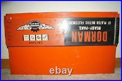 Vintage 1940s Dorman Metal Truck Car Automobile Advertising Sign Store Display