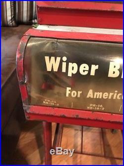 Vintage 1950's Trico Windshield Wiper Blade Store Display Rack