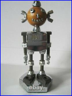 Vintage 1950s NAT National Screw Manufacture Company Advertising Robot Promo