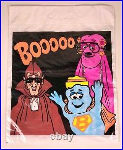 Vintage 1970s General Mills Monster Cereal Halloween Store Display Franken Berry