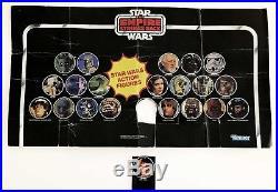 Vintage 1980 Kenner Canadian Star Wars ESB 21-Back Store Display Bin Header