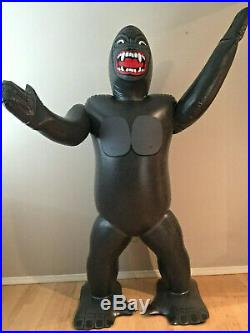 Vintage 1986 Imperial Toy Company Inflatable King Kong Video Store Prop Display