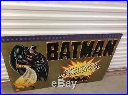 Vintage 1989 BATMAN Collectors Headquarters Store Display Toy Biz D. C. Comics