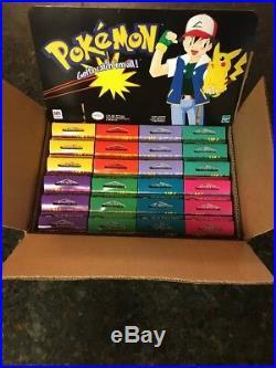 Vintage 1999 NINTENDO Pokemon ToysRus Store Display 24 Mini Puzzles NEW