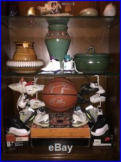 Vintage 80s Nike Air Jordan Icon Logo Acrylic Store Display Sign