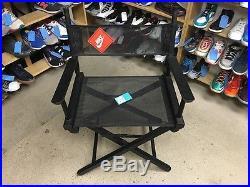 Vintage 90's Nike Swoosh Just Do It Director's Chair Store Display Black OG