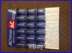 Vintage AC Spark Plug Action Display Advertising Jars 50's 60's