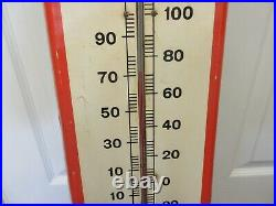 Vintage Advertising Fram Filters Thermometer Store Display Automobilia A-162