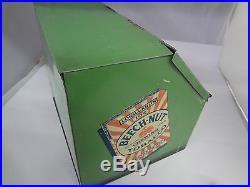 Vintage Advertising Tobacco Bech-nut Green Store Counter Display Bin Tin 164-x
