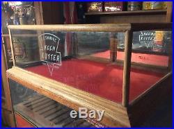 Vintage Antique Keen Kutter Advertising Display Cabinet Sign