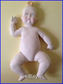 Vintage Baby Mannequin Kewpie Style Boy Or Girl Store Display