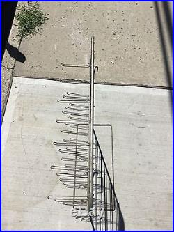 Vintage CORGI Juniors WHIZZ WHEELS Store Display Retail Metal Wire Rack RARE