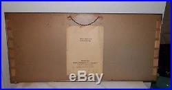 Vintage Camel Cigarette Advertising Store Display Sign Glass Front 28 1/4 Long