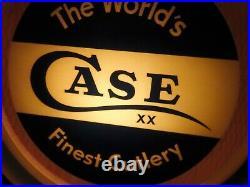 Vintage Case XX Knife Dealer Light 1940's Case XX Knives Salesman Store Light