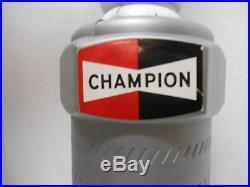 Vintage Champion Spark Plug Plastic Advertising Store Display 22.5 Tall