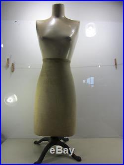 Vintage Composite Store Display Mannequin Dress Form