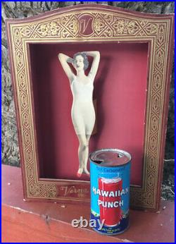 Vintage Corset Girdle Underwear Advertising Store Display Over 100 Years Old