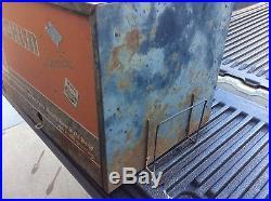 Vintage Echlin Metal Parts Cabinet Drawer Store Display With Brochure Rack Nice