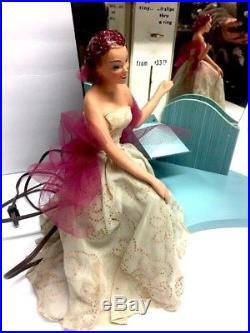 Vintage Elgin Petite Motion Watch Advertisement Window Display 40's Doll