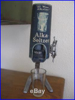 Vintage General Store Alka Seltzer Counter Top Store Display NO RESERVE