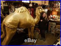 Vintage Giant Camel Cigarette display/ life size camel Store Display huge