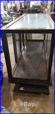 Vintage Glass Store Display Counter