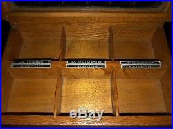 Vintage HUNT PEN Counter Display Case
