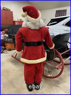 Vintage Harold Gale Store Display Santa in Red Suit 59