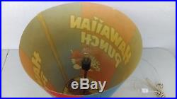 Vintage Hawaiian Punch 20 Lighted Icee Cup Store Display With Punchy